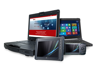 Notebook Rugged e Tablet Industriali